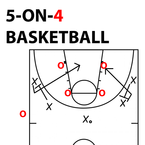 5-ON-4-basketbal